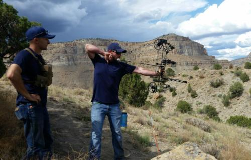 Denver and Ryan Shooting Upper Loop