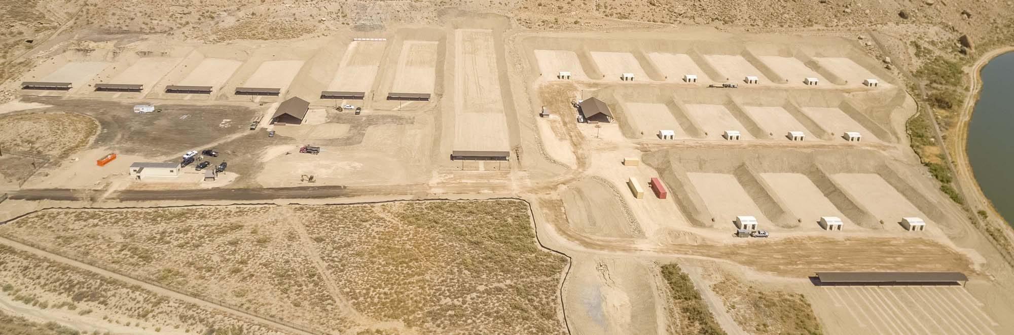 Aerial view of CSEC facilities