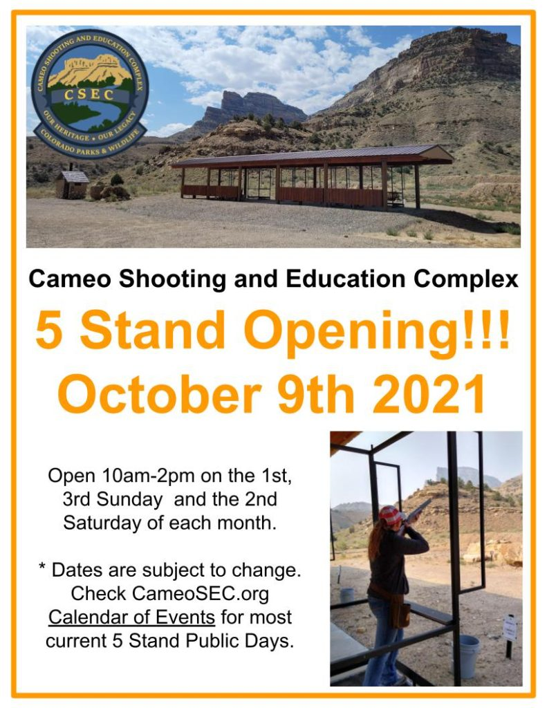 5 Stand Opening Flyer