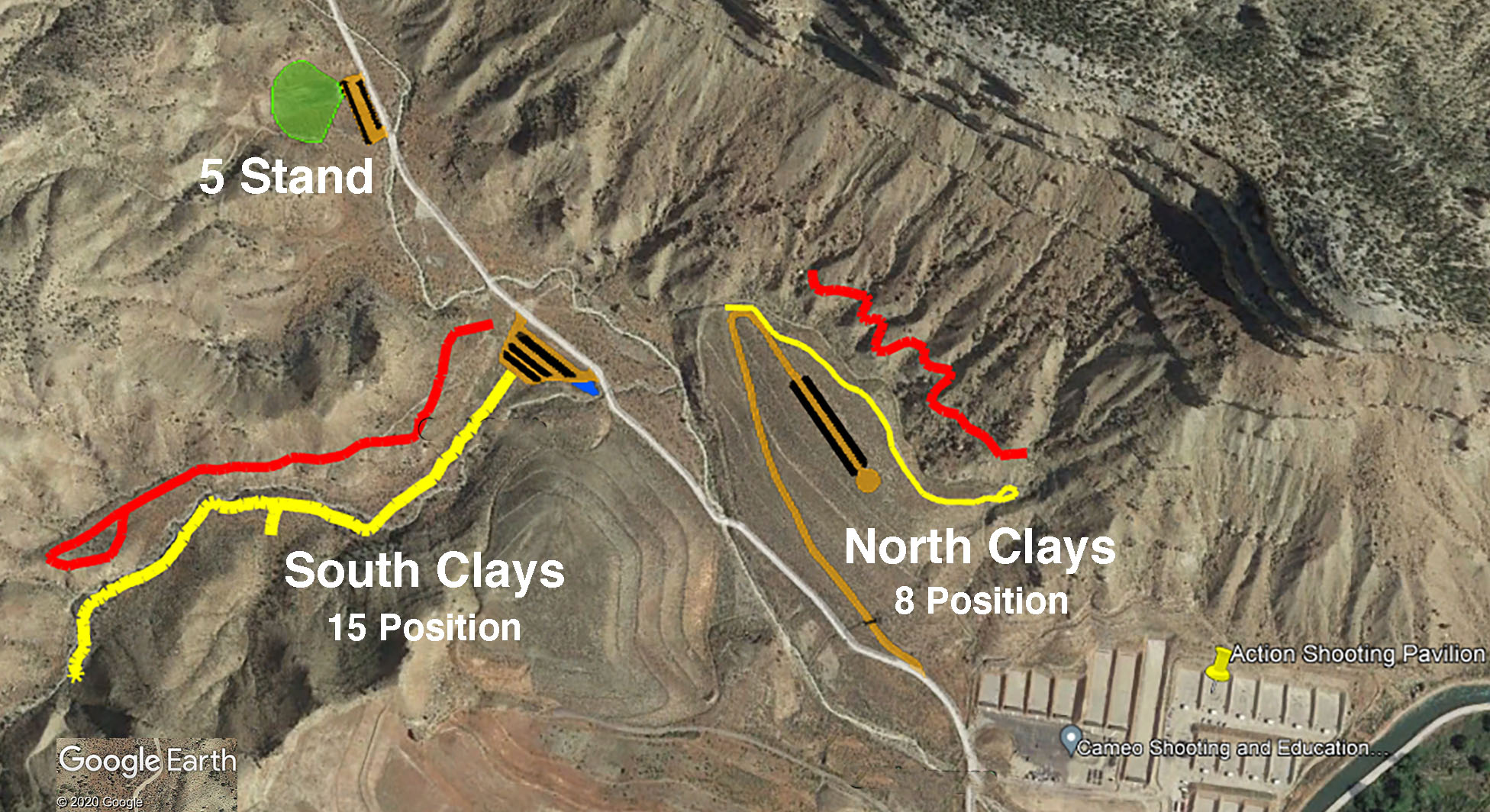 Sporting Clays Map